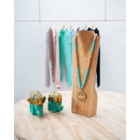Hawk Necklace Tosca