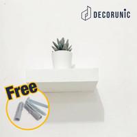 [Decorunic] Floating Shelf - Rak Dinding Minimalis ukuran 20 cm