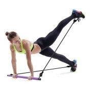 loop pull up Resistance Band Stik Yoga Stick Pilates Stik 91cm