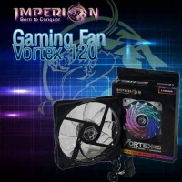 Kipas PC Gaming Fan IMPERION Vortex 120