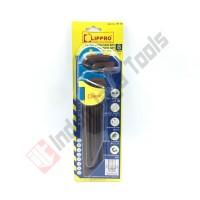 LIPPRO 161-S8 Kunci L Set Panjang 8 Pcs - Extra Long Hex Key
