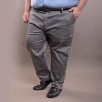 Celana Chino LIGHT GREY Jumbo Big Size Ukuran Besar XXL XXXL WGB - 3XL