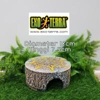 Exoterra Aztec Hiding Cave Medium / Goa Tempat Sembunyi Reptil