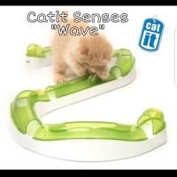 Catit Wave Circuit / Mainan Kucing Interaktif