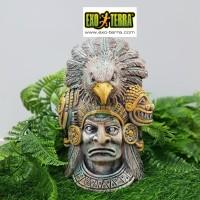 Exoterra Aztec Eagle Knight Hiding Cave / Tempat Sembunyi Reptil