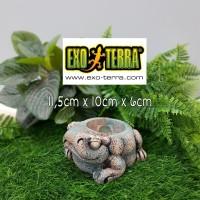 Exoterra Aztec Frog Water Dish / Wadah Tempat Air Minum Reptil