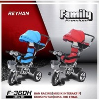 Sepeda Anak Roda Tiga Family Tricycle F-360H
