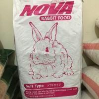 JNE Makanan Kelinci Nova 10kg no briter bunny Vitamax Pelet Kelinci