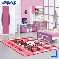 Karpet Anak Karakter Hello Kitty Original Ukuran 100x150cm