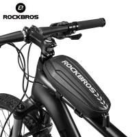 RockBros Tas Tube Lipat Multifungsi untuk Frame Depan Sepeda MTB