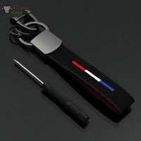 Car keychain Accessories Soft Truck Leather+metal For BMW Strap