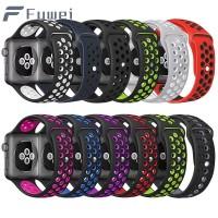 Fuw Sport watch strap for Apple Watch Series 1 2 3 4 42mm 44mm 40mm