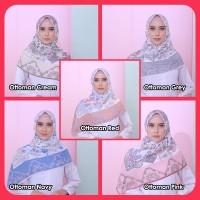 √ Hijab atakaye | Printing Voile Chic Segi Empat Untuk Kebaya