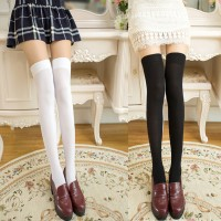 Kaos Kaki Stocking Panjang Sepaha Bahan Elastis untuk Cosplay