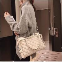 READY STOK B6876-beige Tas Selempang Fashion Kekinian Import
