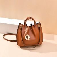 READY STOK B6821-brown Tas Jinjing Minimalis Dengan Tali Selempang