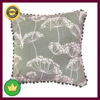 45x45 Cm Sarung Bantal Sofa Flower - Hijau Teal