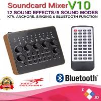 PROMO Sound Card V10 Bluetooth Versus Mixer V8 Versus XOX KS108 Live