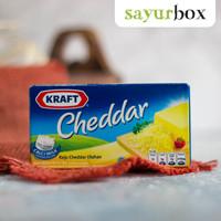 Kraft Keju Cheddar 165 gram Sayurbox