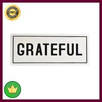 Hiasan Dinding Grateful 13 50x20x0.06 Cm