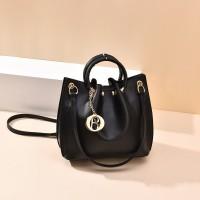READY STOK B6821-black Tas Jinjing Minimalis Dengan Tali Selempang