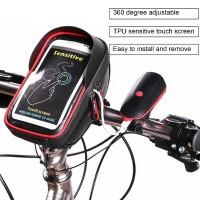 Aksesoris Sepeda WHEEL UP Waterproof Bike Handlebar Bag Bicycle Front