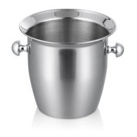 2L Stainless Steel Thickened Red Wine Ice-Pail Cooler Box Bucket