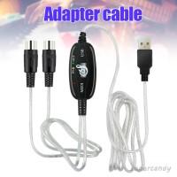 Kabel Adapter Midi Ke Usb Interface Untuk Keyboard Musik Pc