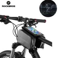 RockBros Tas Handphone Touch Screen Anti Air untuk Frame Depan Sepeda