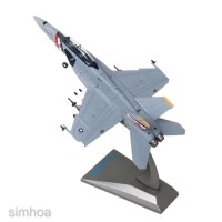 1:100 China Diecast F-18 Hornet Airplane Model Plane Toy with
