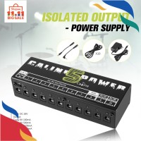 FY* Caline CP-05 Power Supply 10 Port Isolator Output untuk Pedal