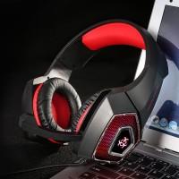 Terbaru hunterspider V1 Headset Gaming Stereo Bass