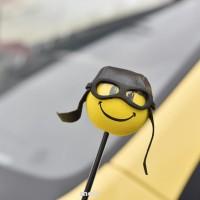 Car Antenna Accessories Funny Pi Aerial Ball Decor Topper Truck SUV