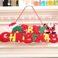 Gowind7 Ornamen Gantung Pintu Desain Tun Merry Christmas untuk