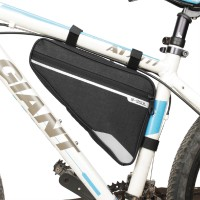 Aksesoris Sepeda Tas Frame Front Tube Anti Air Portable untuk Sepeda