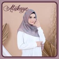 √ Hijab atakaye | Voile Chic Segi Empat Motif Untuk Kebaya
