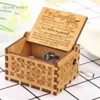Kotak Musik Retro Bahan Kayu untuk Dekorasi Ruang Tamu