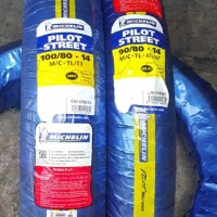 Michelin 90 80-14 dan 100 80-14 Pilot Street Ban Motor Tubeless S