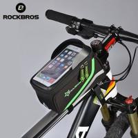 RockBros Tas Pouch Handphone Touch Screen untuk Frame Sepeda