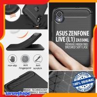 Asus Zenfone Live L1 ZA550KL - PREMIUM Carbon Fiber Brushed Soft Case