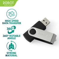 ROBOT RF108 (8GB) Flashdisk with Package - Garansi 1 Tahun - Perak