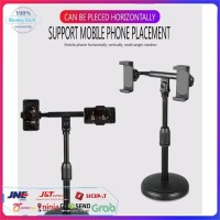 Mobile Phone Live Support Multifungsi Double Lazy Phone Stand Holder