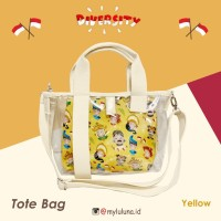 Tote Bag Unity In Diversity YELLOW