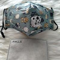 Masker Anak N95 8 Lapis (Premium)
