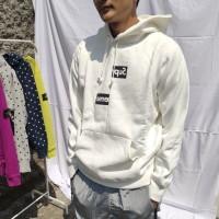 Supreme x Comme des Garcons Split Box Logo Pullover FW18 CDG hoodie