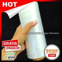 Plastik Wrapping Wrap Stretch Film Lebar 20cm Panjang 250 mtr Jogja