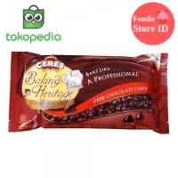 Ceres Baking Heritage Dark Chocolate Chips 250gr - Dark Coklat Cips