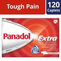 Panadol Extra, 120 caplets (Singapore)