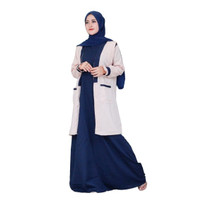 Elbina Set outer-islam_fashion-Size S-M-L-XL gamis