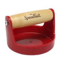 Baren Speedball Red - Pegangan kayu - 4 inchi - handal - kuat